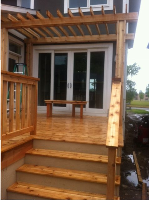 decks with trellis